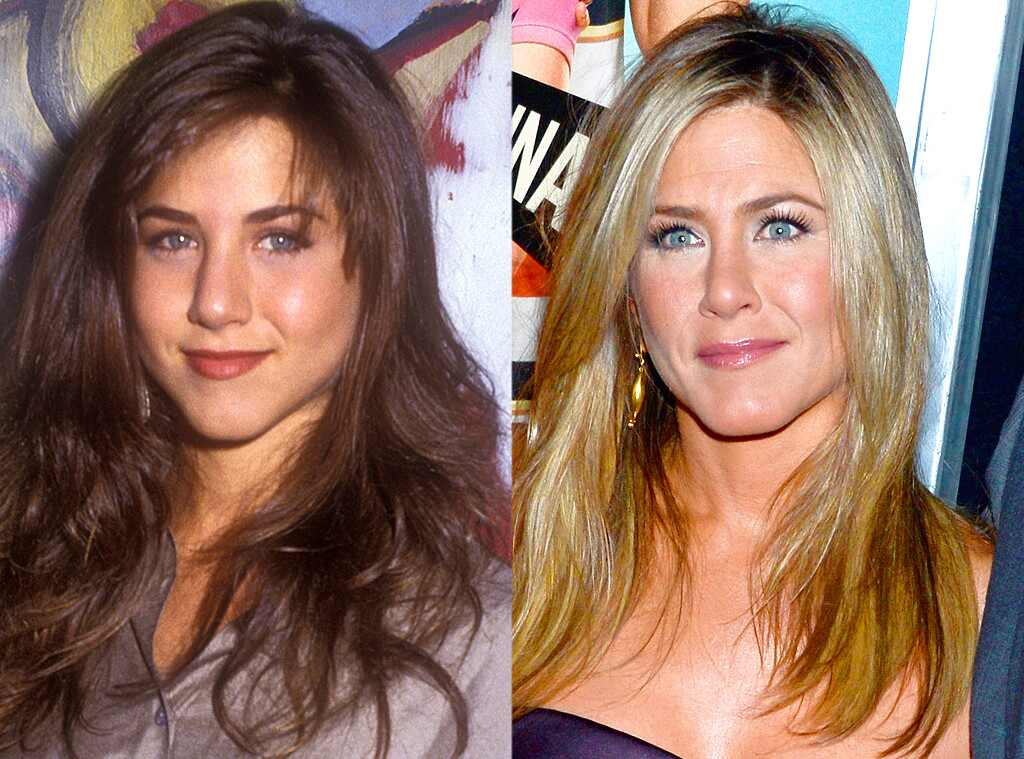 Jennifer Aniston from Celebrities Who Got a Nose Job to ...