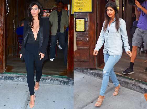 Kim Kardashian West, Kourtney Kardashian