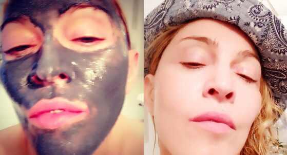 Madonna, Face Mask, Instagram
