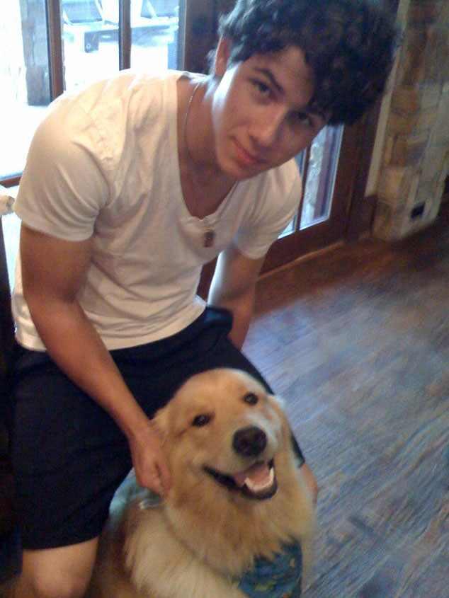 Nick Jonas, Dog, Elvis