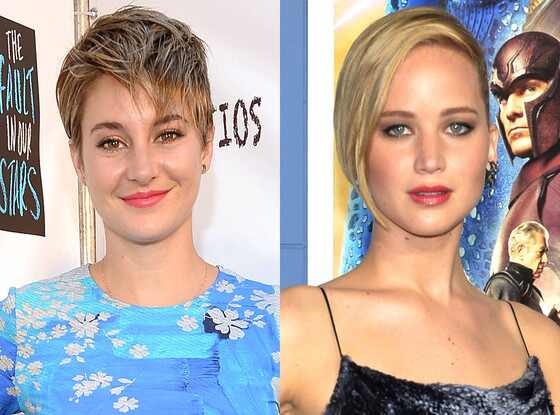 Shailene Woodley, Jennifer Lawrence