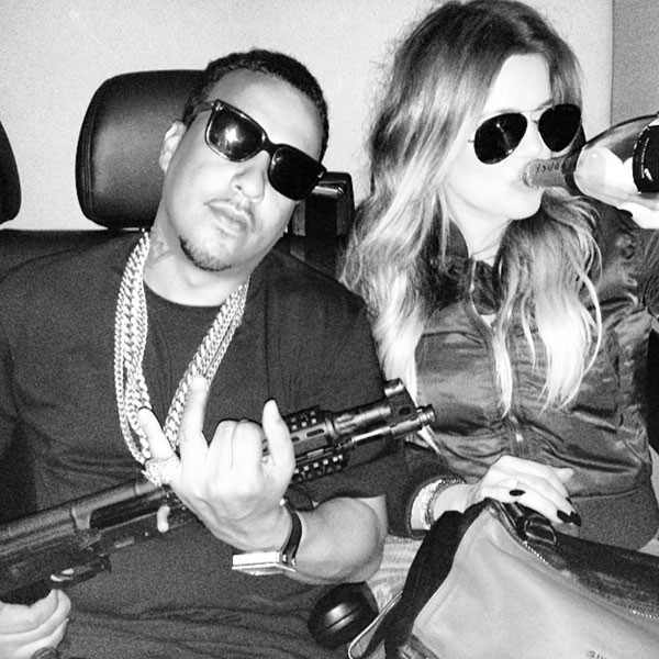 French Montana, Khloe Kardashian, Instagram