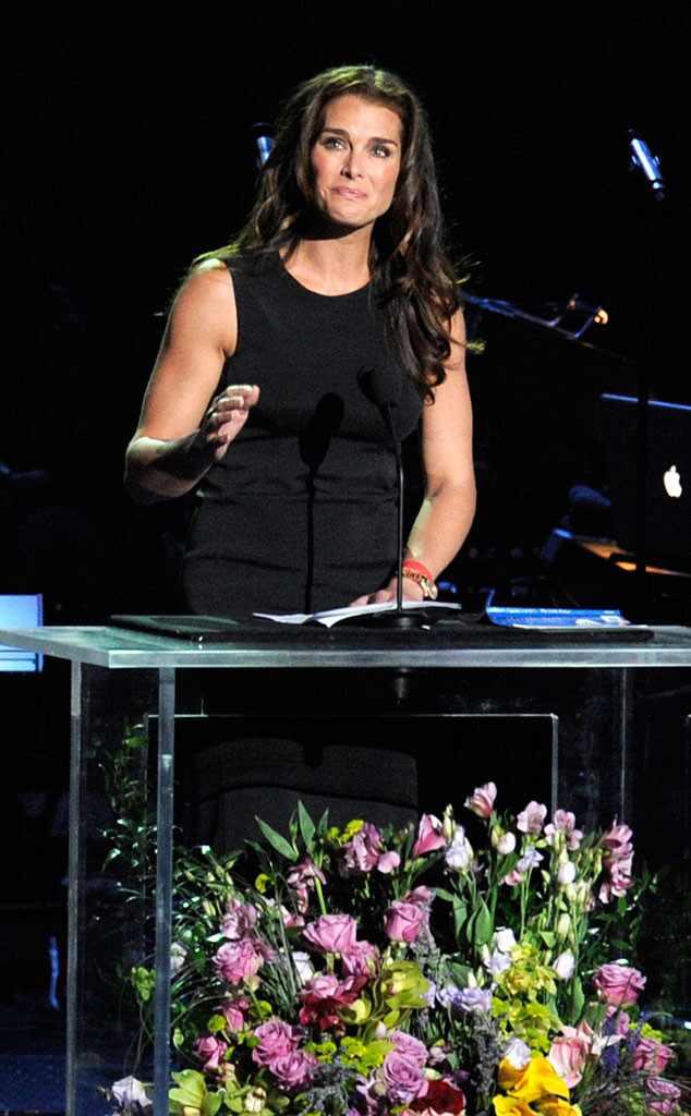 Brooke Shields, Michael Jackson, Memorial
