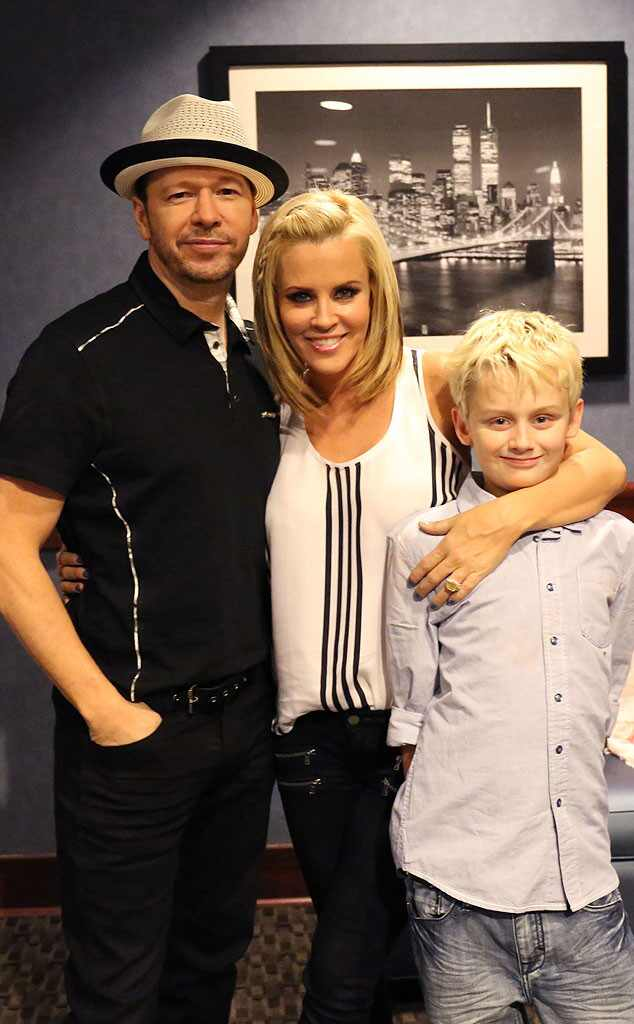 Jenny McCarthy and Donnie Wahlberg Are Married! | E! News Xavier And Elijah Wahlberg