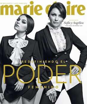 Angélica Rivera, la Primera Dama de México, hace historia al posar para la portada de Marie Claire