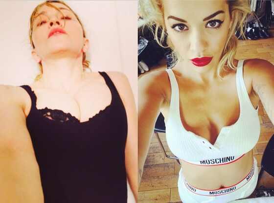 Madonna, Rita Ora, Instagram