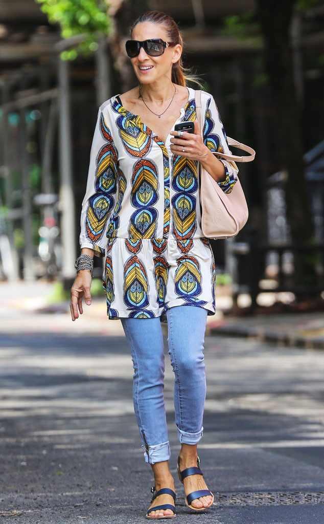 Summer Daze from Sarah Jessica Parker's Street Style