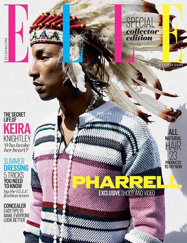 Pharrell Williams, Elle UK
