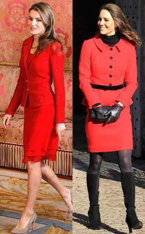 Kate Middleton y Letizia Ortiz