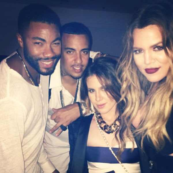 Khloe Kardashian, French Montana, Duane McLaughlin, Amber Ridinger, Instagram