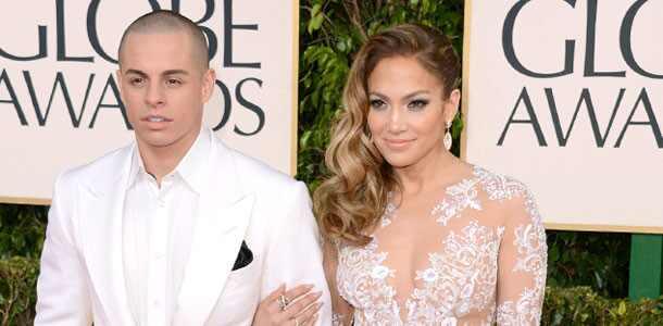 Jennifer Lopez, Casper Smart, Golden Globe