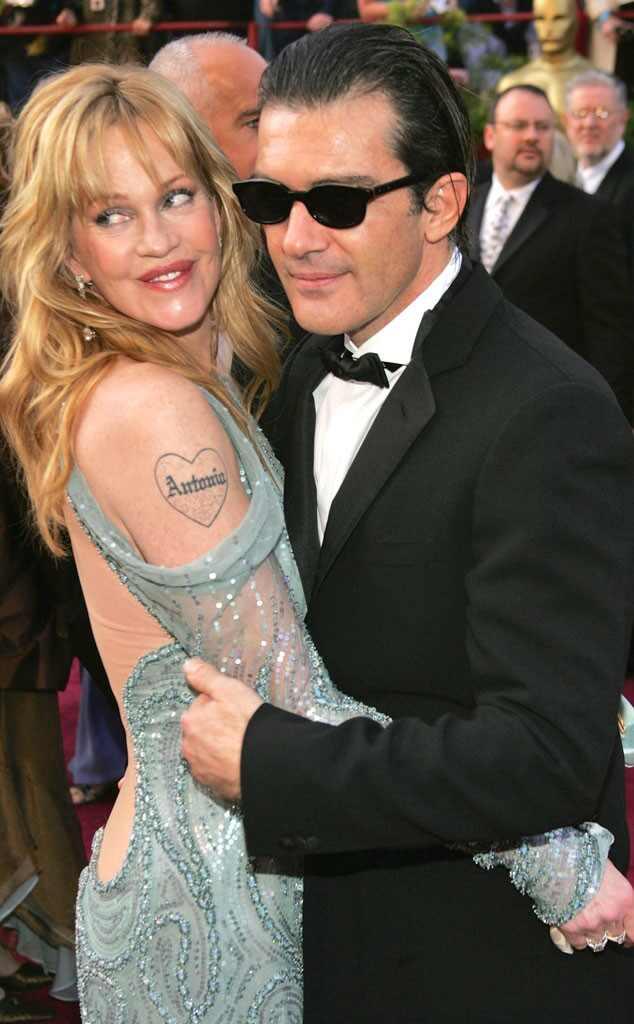 Melanie Griffith, Antonio Banderas, Tattoo