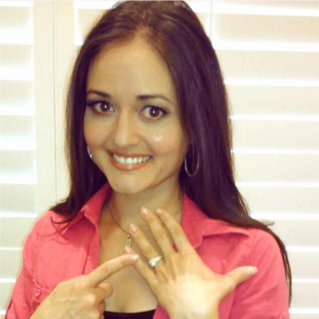 Danica McKellar, Ring