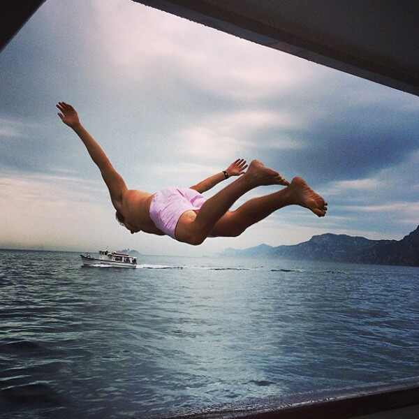 It 39 s serious heidi klum shares cute instagram pic with for Hot vacation spots for couples