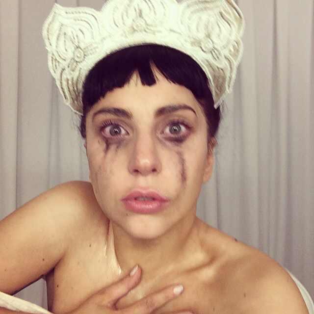Lady Gaga's Strangest Selfies