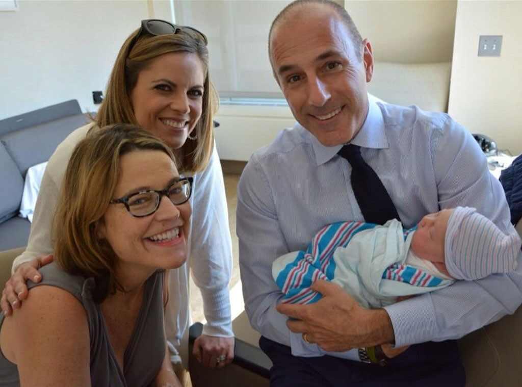 Savannah Guthrie, Baby Vale, Natalie Morales, Matt Lauer