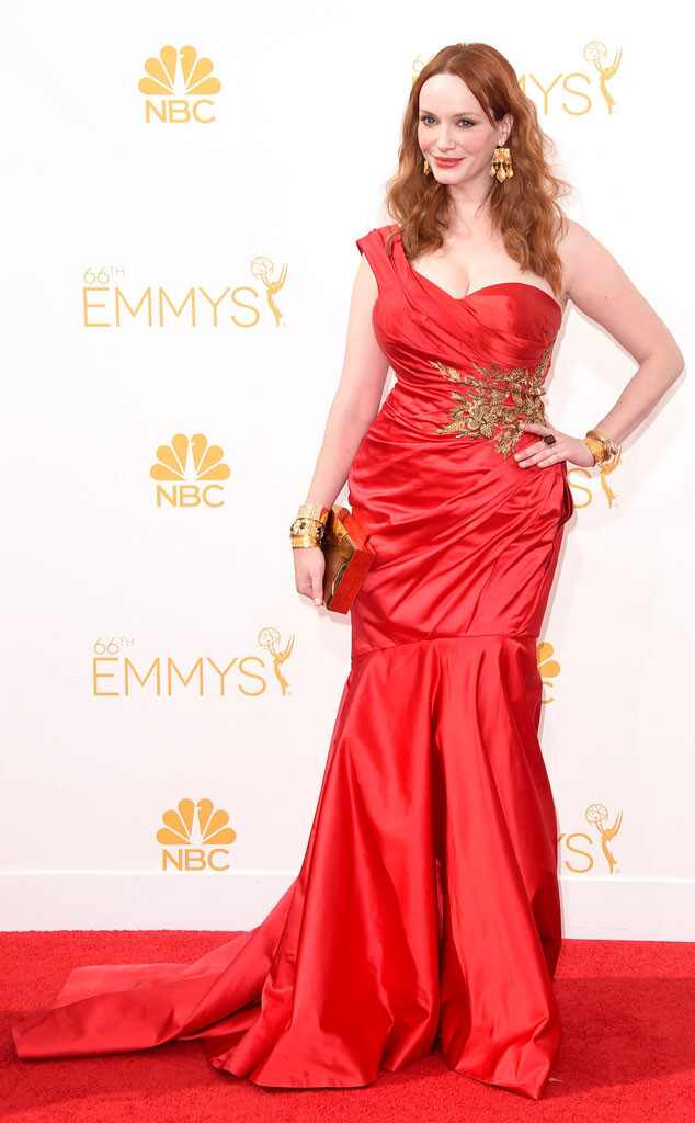 Christina Hendricks, Emmy Awards 2014