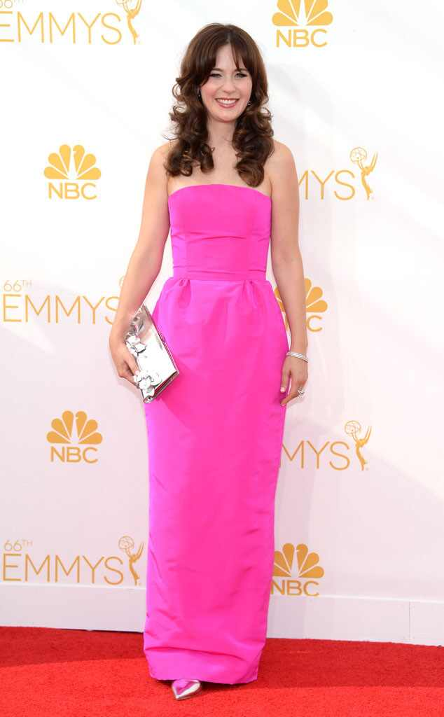 Zooey Deschanel, Emmy Awards 2014