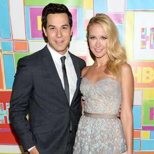 Anna Camp, Skylar Astin, 2014 Emmy's, Party Pics