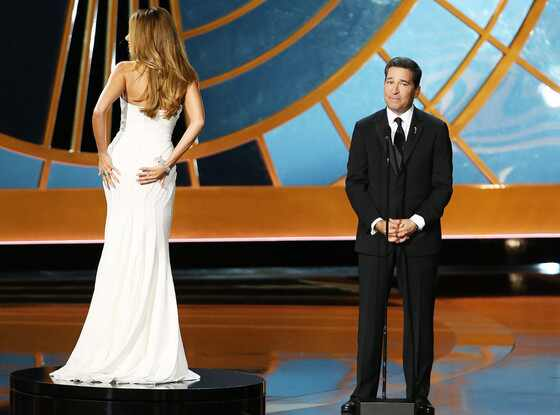 Sofia Vergara, Bruce Rosenblum, 2014 Emmy