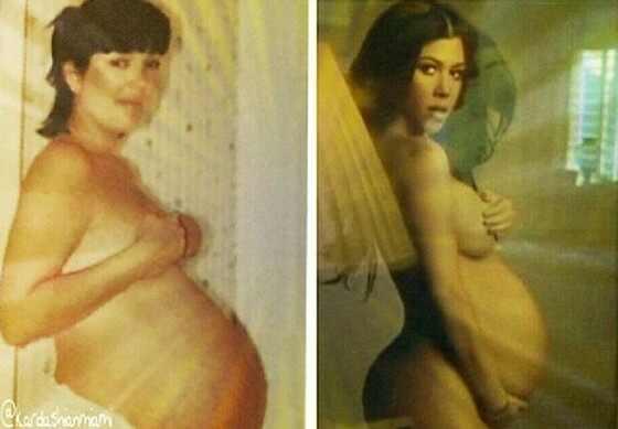 Rica panza de embarazada pregnant para llenarla de leche 6