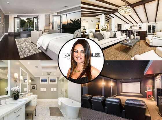 Mila Kunis, Home