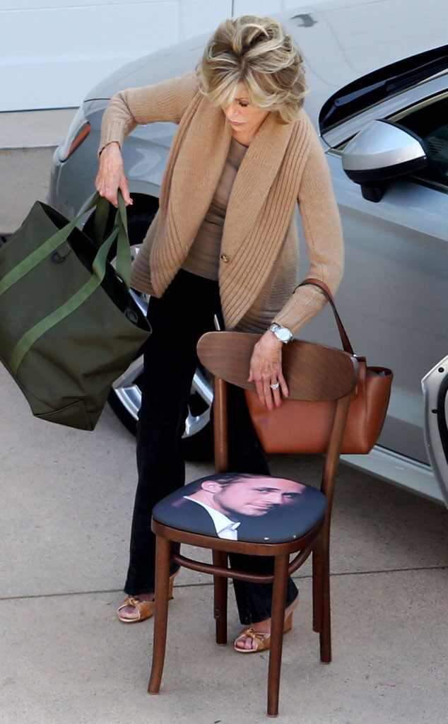 Jane Fonda, Ryan Gosling Chair