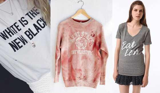 Urban Outfitters Holocaust Shirt