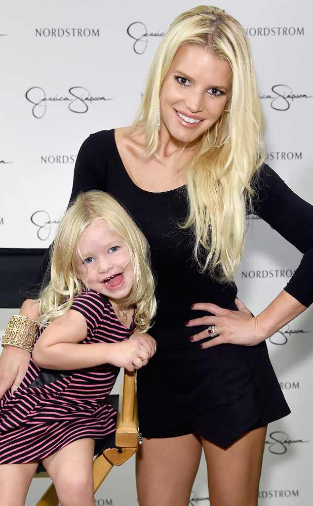 Jessica Simpson S Kids Are Adorable As They Attend Mom S