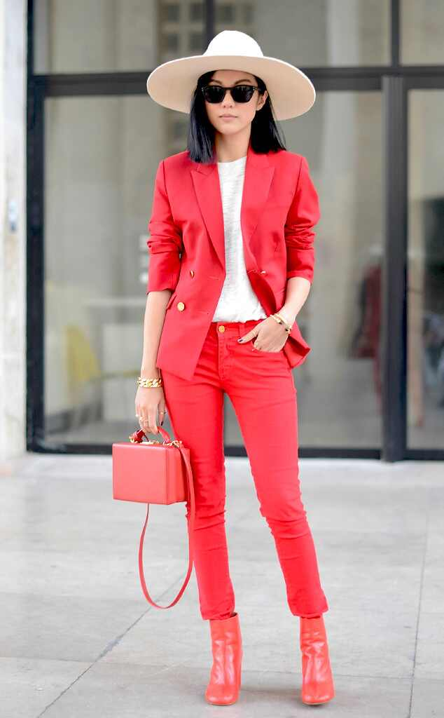 Yoyo Cao From Street Style Paris Fashion Week Spring 2015