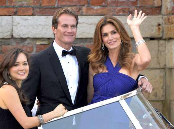 Cindy Crawford, Rande Gerber, Clooney Wedding