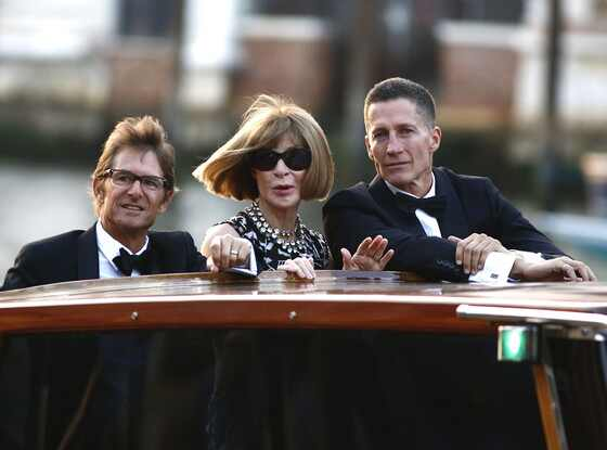 Anna Wintour, Bruce Bozzi Jr., Clooney Wedding