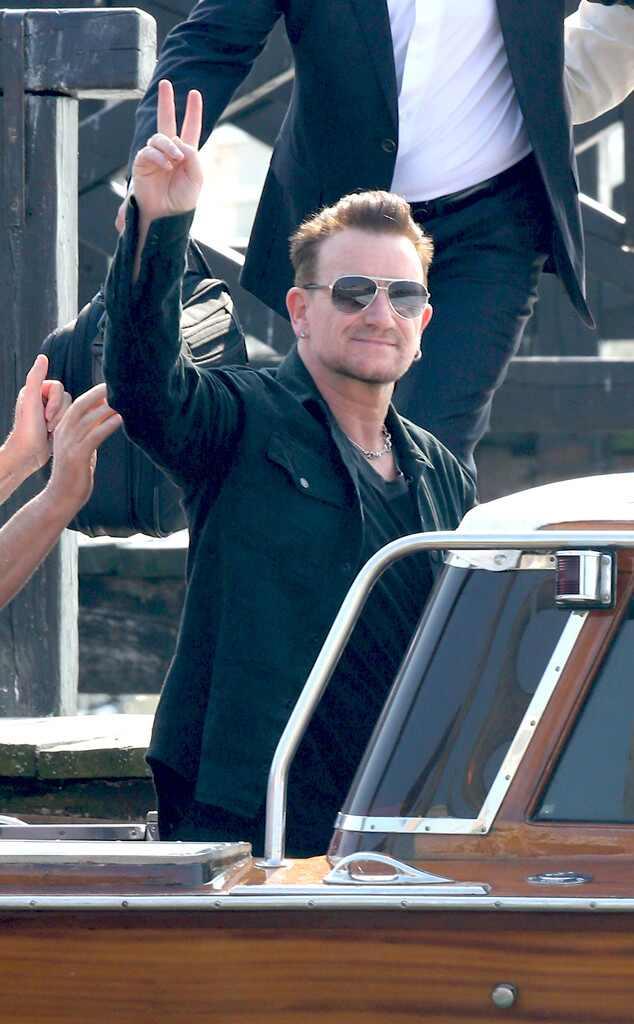 Bono, Clooney Wedding