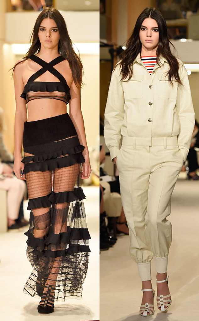 Kendall Jenner, Paris Fashion Week