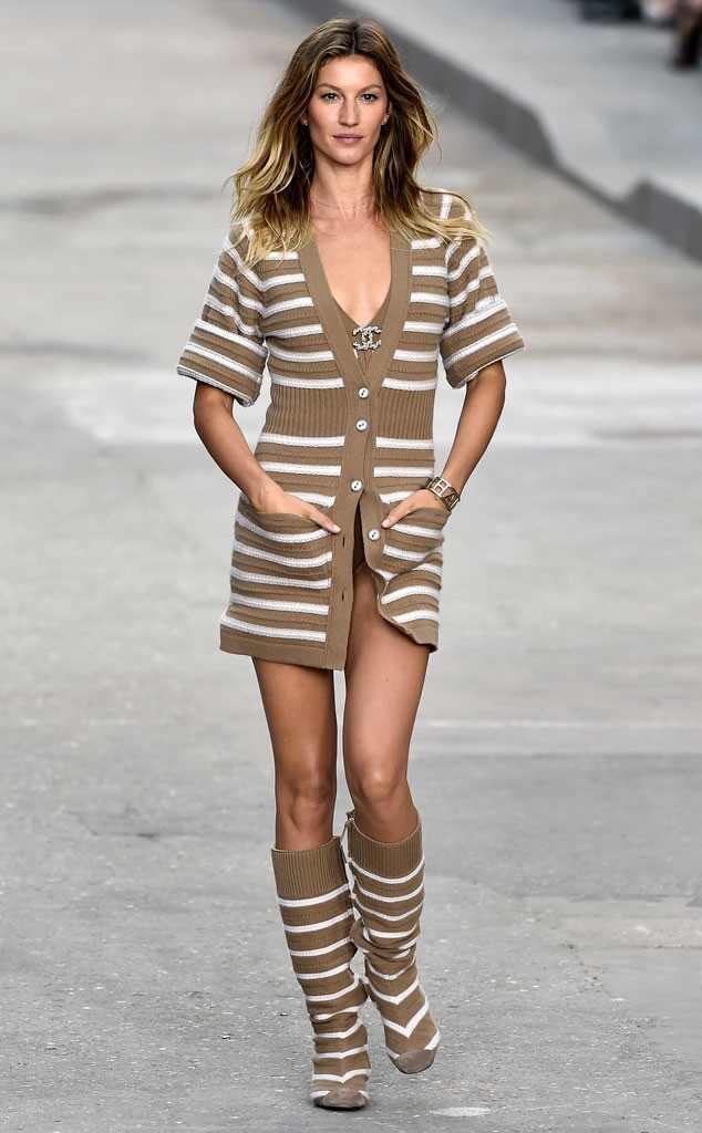 Gisele Bundchen, Chanel, Paris Fashion Week