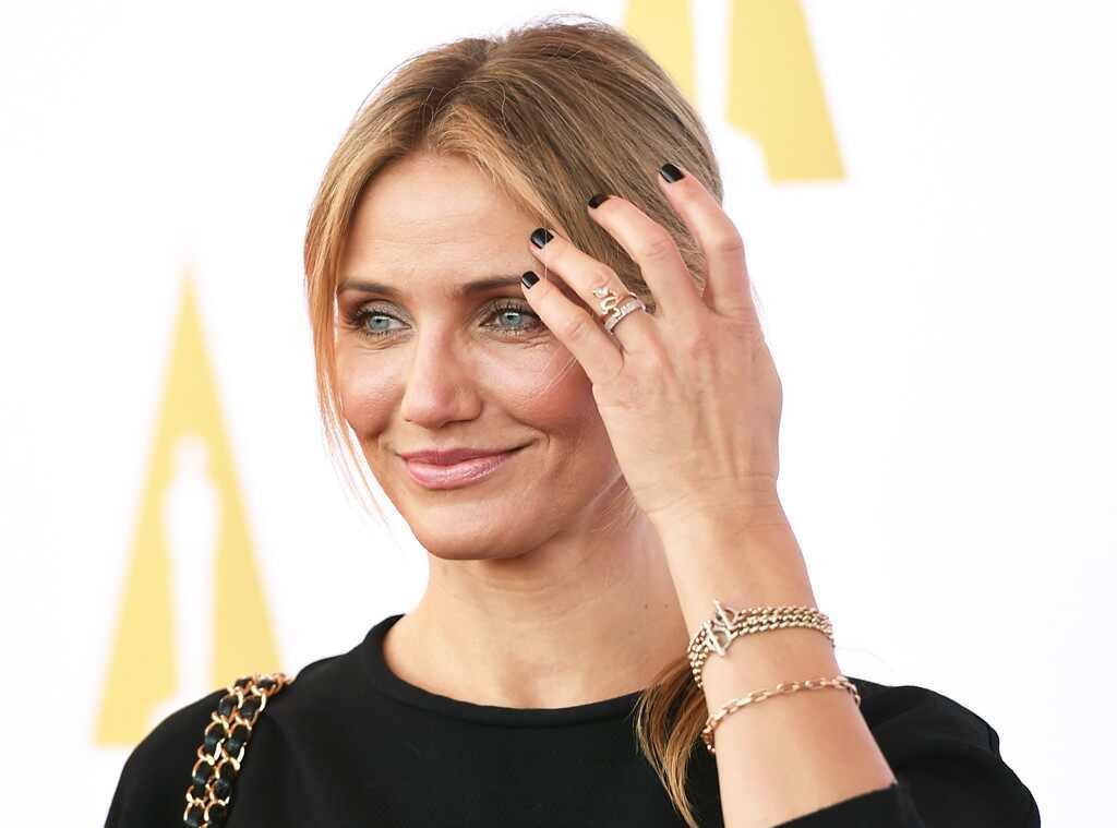 Cameron Diaz Engaged To Benji Madden Actress Wears