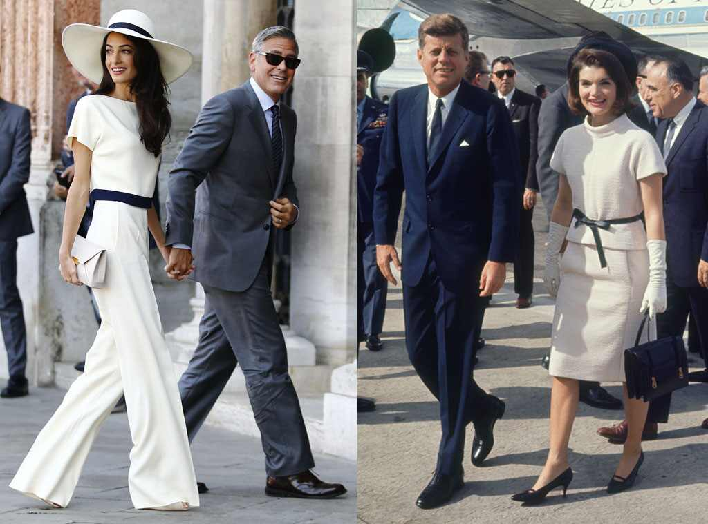 First Ladies Of Fashion From Amal Clooney S Jackie O