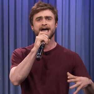 Daniel Radcliffe es el mejor rapero del momento y lo demostró en el programa de Jimmy Fallon (+ Video)