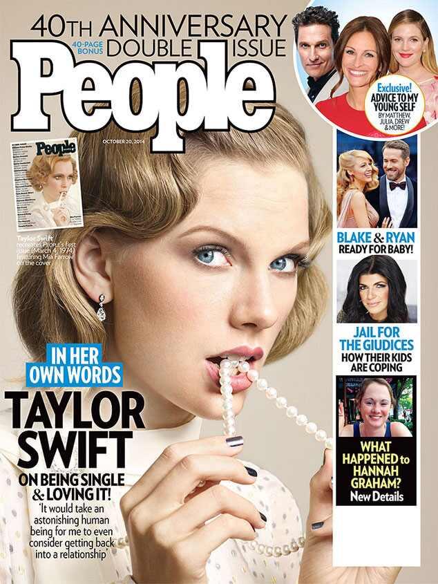 Taylor Swift, People Magazine