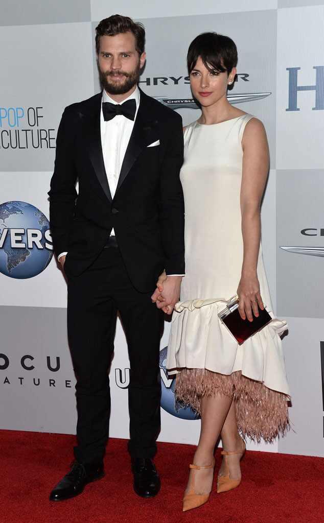 Jamie Dornan, Amelia Warner, Golden Globe, After Party