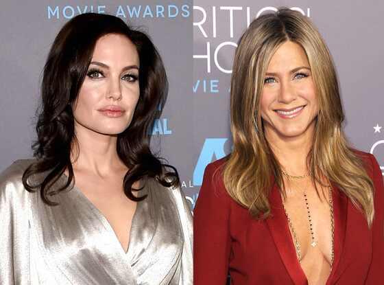 Jennifer Aniston, Angelina Jolie, Critics