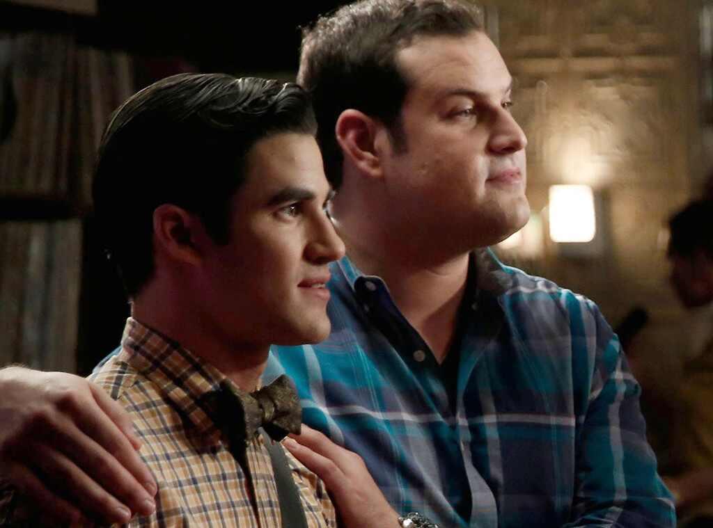 Mac Adler, Darren Criss, Glee
