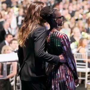 Lupita Nyong'o y Jared Leto reviven los rumores de romance