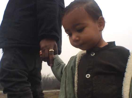 Kanye West and North Make Our Hearts Melt in ''Only One ...