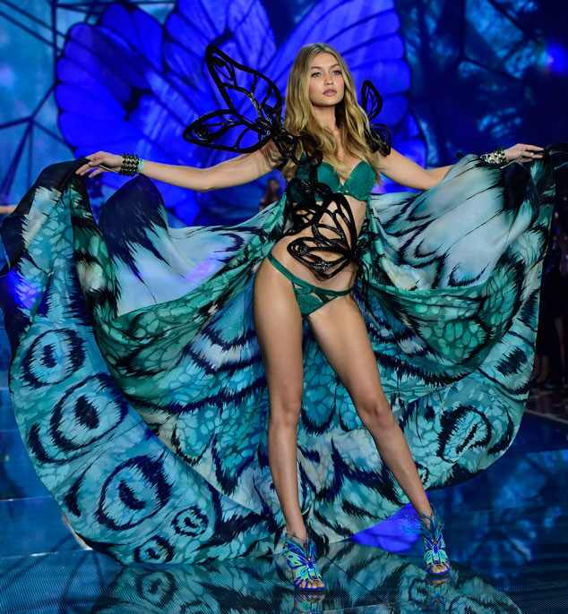 Gigi Hadid, Victorias Secret Fashion Show Runway