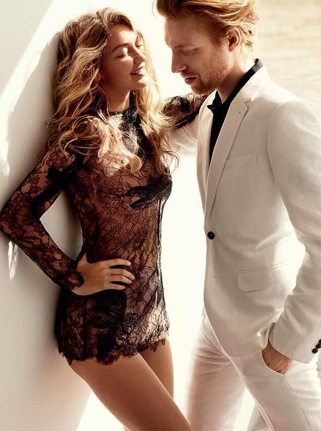 Gigi Hadid, Domhnall Gleeson, Vogue