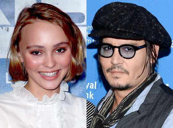 Johnny Depp Says Seeing Daughter Lily-Rose Depp in Makeup ...