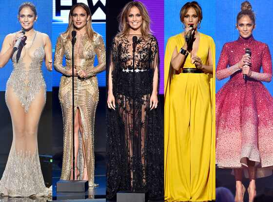 Jennifer Lopez, Fashion, 2015 American Music Awards