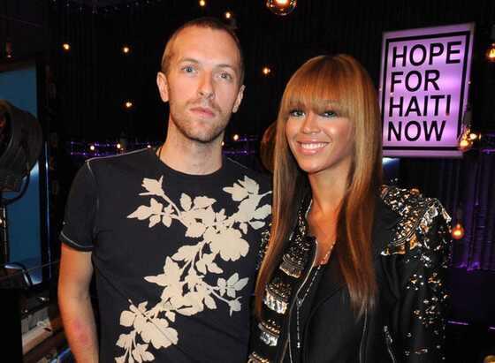 Chris Martin, Beyonce,Telethon