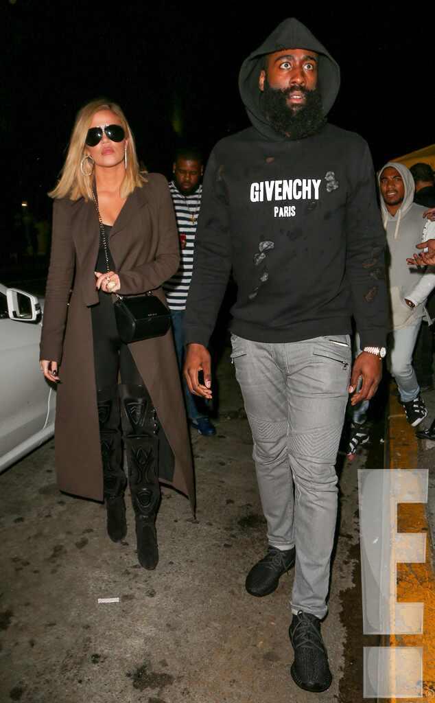 Khloe Kardashian And James Harden Photographed Together